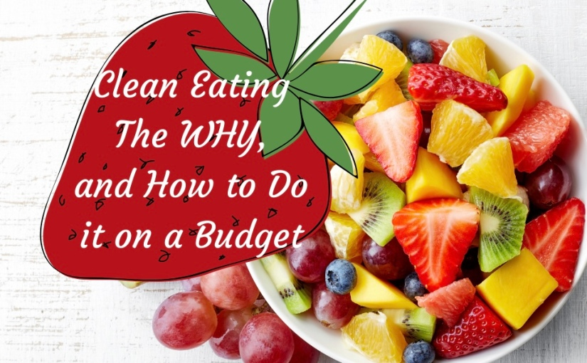 Clean Eating the WHY, and How to do it on aBudget